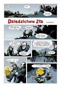 komiks Dziedzictwo Zła str1